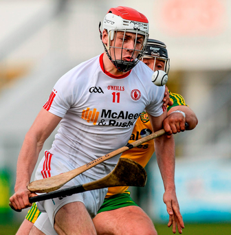 Casey: Bagged a 0-15 haul for Tyrone. Photo: Sportsfile