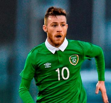 Republic of Ireland's Jack Byrne