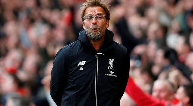 Liverpool manager Juergen Klopp. Photo: Reuters