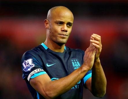 Manchester City's Vincent Kompany. Photo:Clive Brunskill/Getty Images