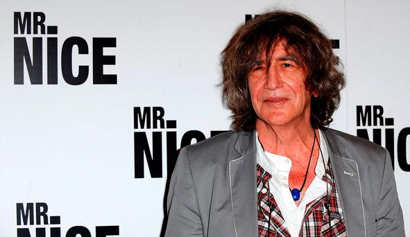 File photo dated 4/10/2010 of former drugs smuggler Howard Marks, who has died aged 70