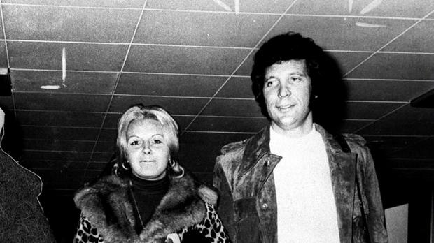 Sir Tom Jones, pictured with wife Linda