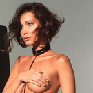 Bella Hadid shares a behind-the-scenes snap of a very racy photo shoot. Photo: Bella Hadid / Instagram