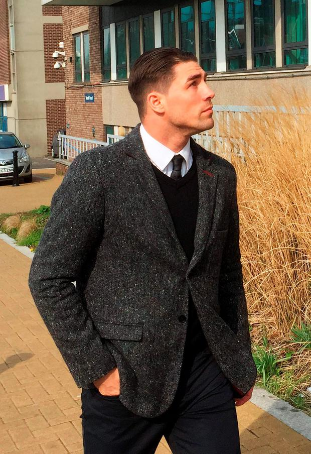 Champion boxer Jamie Cox arriving at Croydon Magistrates' Court in London. Scott D'Arcy/PA Wire