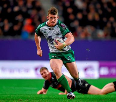 Matt Healy's fine form deserves to win him with a place on Ireland's tour to South Africa. Photo: Stephen McCarthy / Sportsfile