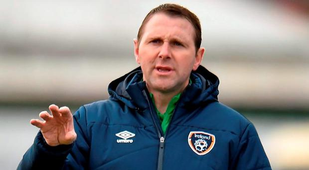 Tom Mohan will succeed Paul Doolin as manager of Ireland's U19's. Photo: Matt Browne / Sportsfile