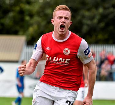 St Patrick's Athletic's Sean Hoare. Photo: David Maher / Sportsfile