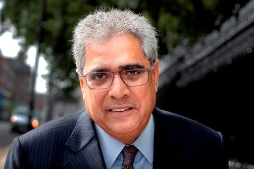 Former deputy director of the IMF Ajai Chopra. Our politicians should ask the Troika for help to solve the housing and health crises. Photo: Tom Burke