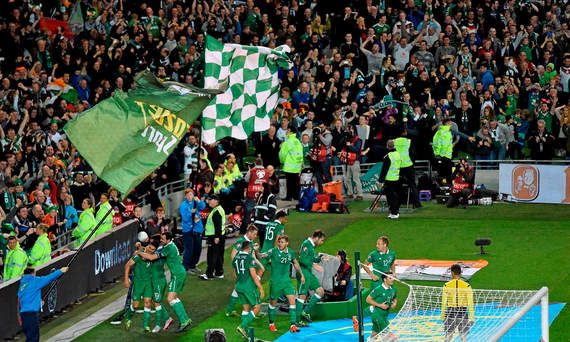 Irish football fans are planning to travel in large numbers to Euro 2016