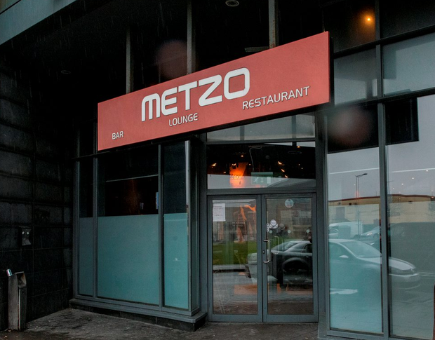 The Metzo bar in Ballymun, where a man allegedly produced a shotgun