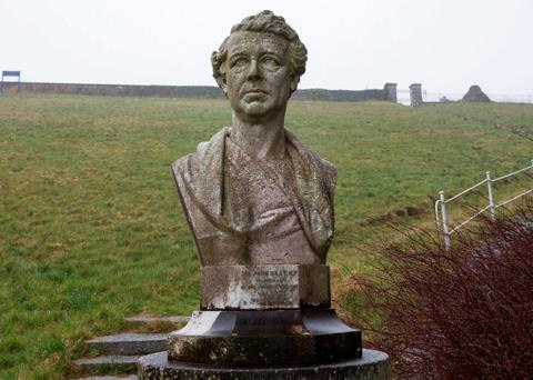 A bust of Sir John Gray at Vartry, where equipment is becoming hopelessly outdated. Picture by Fergal Phillips
