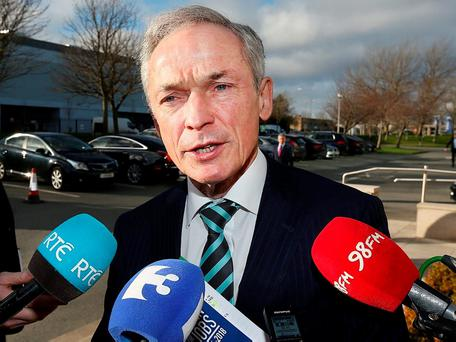 Richard Bruton: wants action on fees to cut insurance costs. Photo Steve Humphreys
