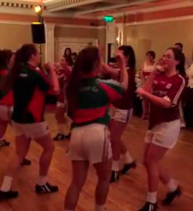 WATCH: Wedding Dancers Act Out Galway/Mayo GAA Rivalry In
