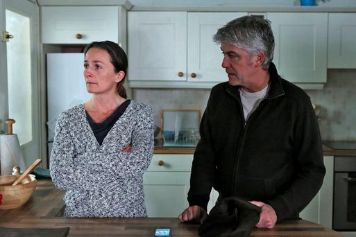 Tommy and Debbie are set for a steamy affair in Fair City