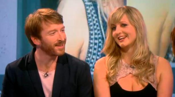Ciaran and Maria on Channel 4's Sex Box