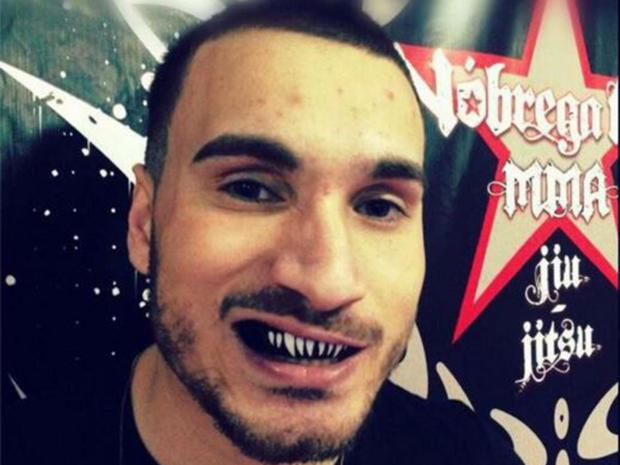 MMA fighter Joao Carvalho has died, aged 28. Facebook/Nobrega Team