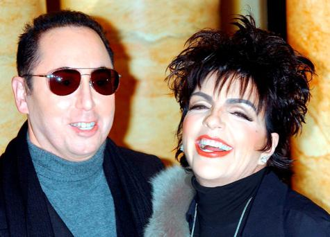 David Gest with his wife Liza Minnelli Credit: Yui Mok/PA Wire