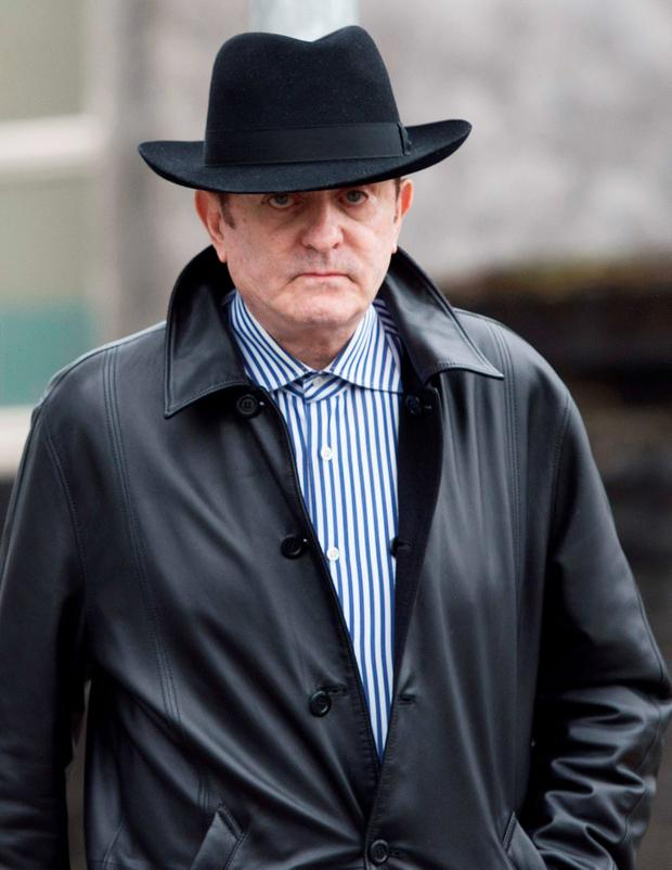 Kevin McGeever at Galway Circuit Court. Photo: Andrew Downes