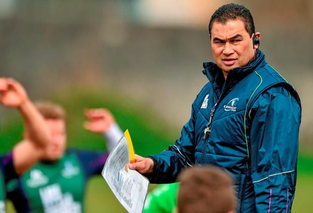 Connacht coach Pat Lam wants his side to keep taking risks. Picture: David Maher / SPORTSFILE