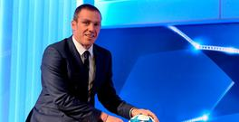 Richard Dunne in the TV3 studios last night. Picture: Brendan Moran / SPORTSFILE