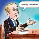 'Kenny is showing no sign of being put out to pasture. The Acting Taoiseach is now regarded as the biggest obstacle to Fine Gael leading the government'
