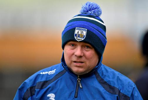Waterford manager Derek McGrath (SPORTSFILE)