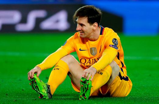 One point from three games is Barcelona's worst league run since May 2009. Photo: AP Photo/Emilio Morenatti