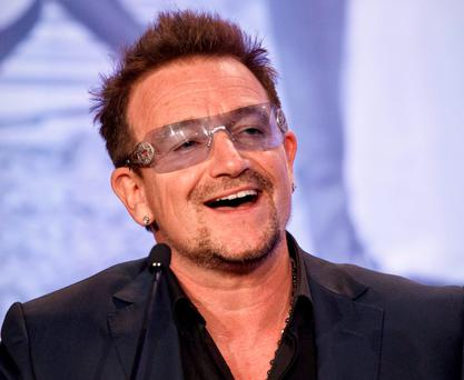 Bono: 'Some families have spent generations as refugees'