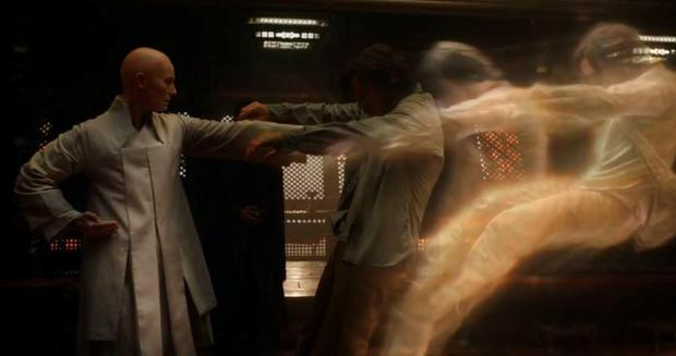 Benedict Cumberbatch and Tilda Swinton in Doctor Strange trailer