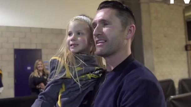 Robbie Keane and Xyla