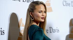 Model/TV personality Chrissy Teigen has revealed the one beauty product she can't live without. (Photo by Kevork Djansezian/Getty Images)