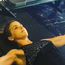 Vogue Williams works through an intense fitness session. Photo: Instagram