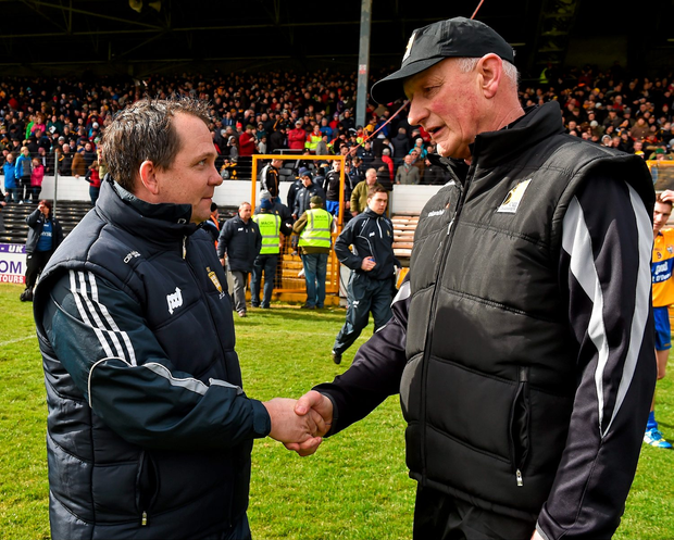 Davy Fitzgerald would have preferred if Ger Loughnane had said nothing to provide Kilkenny and Brian Cody with extra motivation for Sunday's clash. Photo: Sportsfile