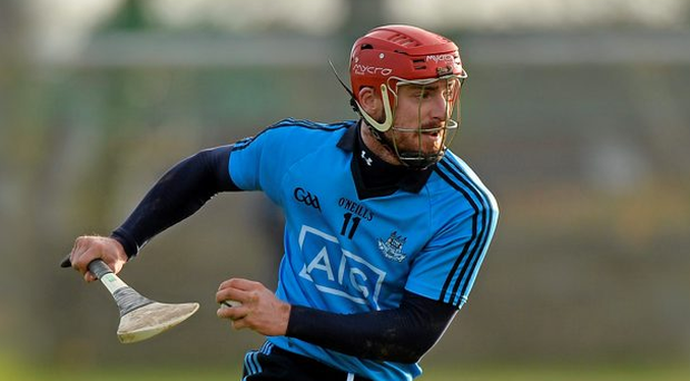 Ryan O'Dwyer returned to full contact training with the Dublin hurlers on Tuesday night. Photo: Sportsfile