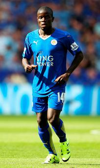 Leicester's N'Golo Kante. Photo: Getty