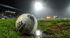 Stock picture of a Gaelic football