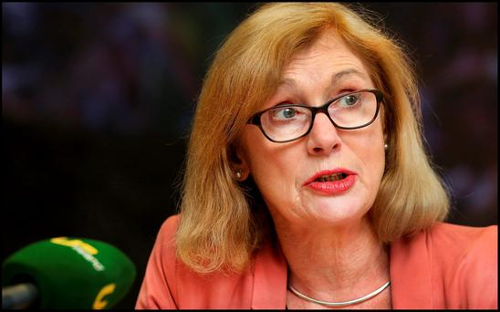 Education Minister Jan O'Sullivan said the roll-out of the inspections was a very positive development. Photo: Steve Humphreys