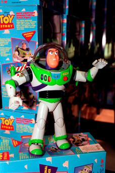 File photo dated 20/12/96 of a Buzz Lightyear doll, as a man who changed his name to Buzz Lightyear for charity has won a year-long battle with the DVLA to have a driving licence in his new name