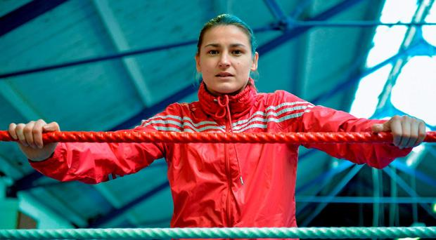 Katie Taylor contacted Hearn on Twitter
