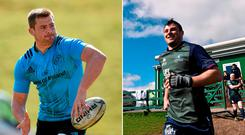 CJ Stander and Robbie Henshaw feature tonight