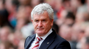 Stoke manager Mark Hughes Photo Reuters / Carl Recine