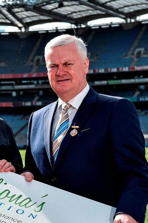 "GAA president Aogán Ó Fearghail (pictured) declared himself ""delighted with the response from the public Photo: Sportsfile"