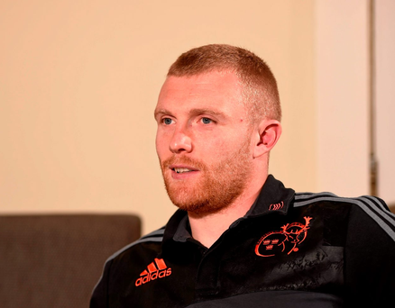 Keith Earls is hoping to finish the season strongly Photo: Sportsfile