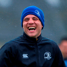 Ian Madigan is all smiles during training ahead of tonight's game against Edinburgh Photo: Sportsfile