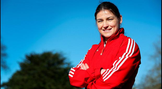 Boxer Katie Taylor. Photo: Steve Humphreys