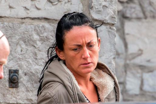 Garda Jimell Henry appeared in court charged with seven counts of illegally disclosing information and with possessing cocaine. Photo: James Connolly