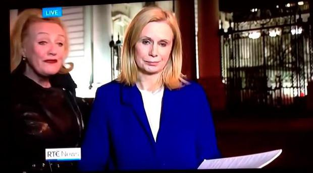 WATCH: RTE political reporter endures yet another