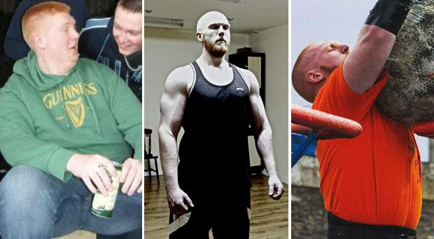 David Jones was once 24 stone but has transformed his life and will compete in ROI's Strongest Man in May