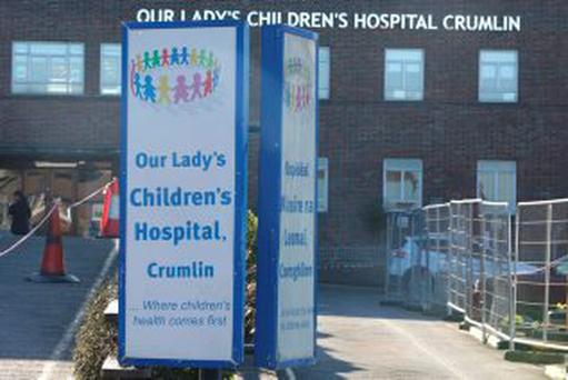Alex first attended his GP before being taken to Our Lady's Children's Hospital, Crumlin, Dublin