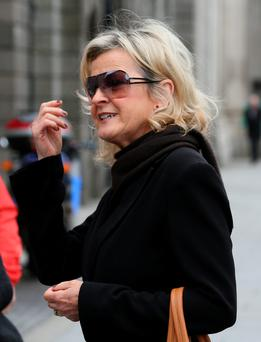 Teresa Wall pictured leaving the Four Courts. Photo: Courts Collins